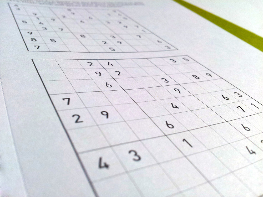 Ghost Office Not-To-Do-Liste Sudoku